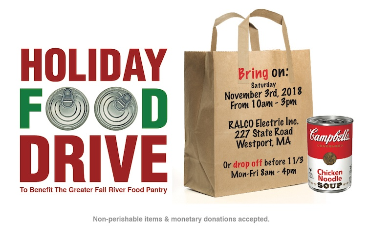 ralco fall river 2018 food drive details