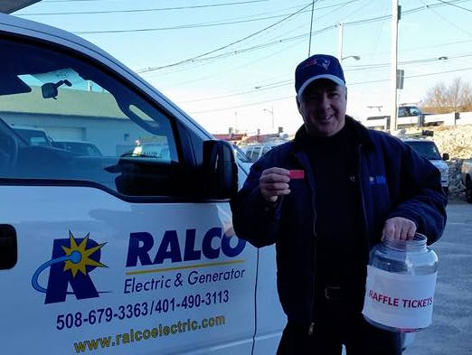 Rene LaChapelle RALCO electric food drive raffle.jpg